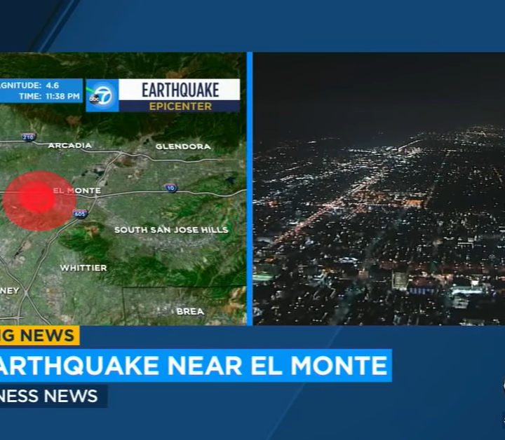 Magnitude 4.6 earthquake hits California