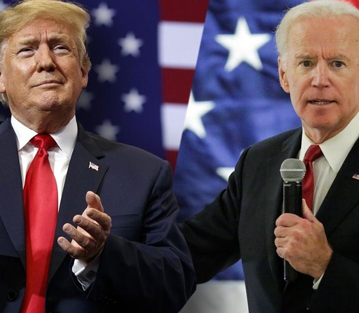 Donald Trump and Joe Biden to hold their first debate today