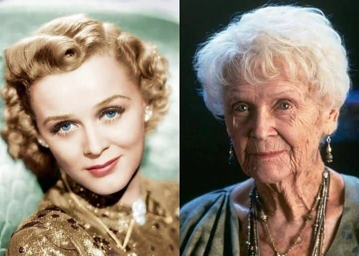 "Old lady Rose from the movie ""Titanic"" was a stunning beauty in her youth"