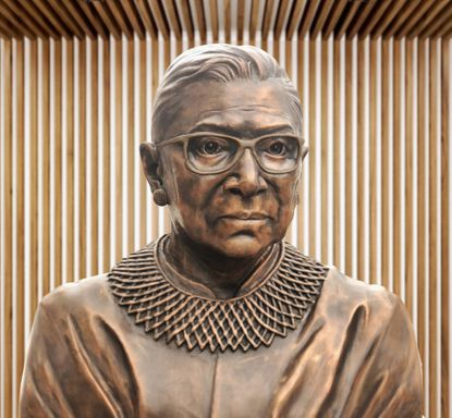 Monument to US Supreme Court Justice Ruth Ginsburg to appear in Brooklyn
