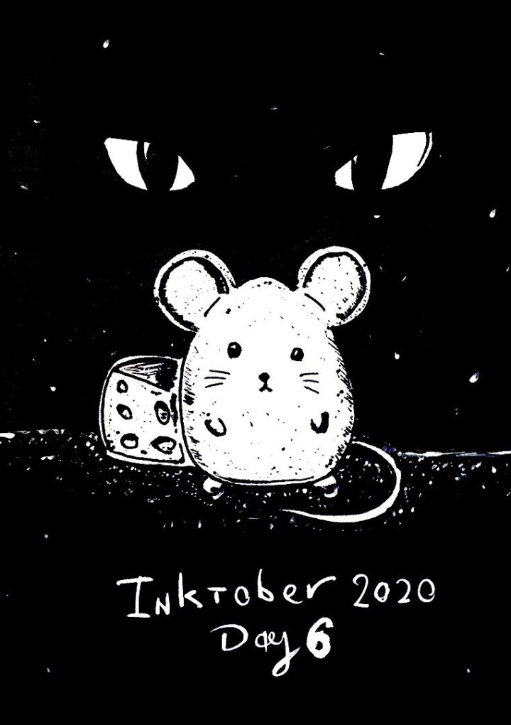 Today Twitter is flooded with cute cartoon rats: what is Inktober 2020?