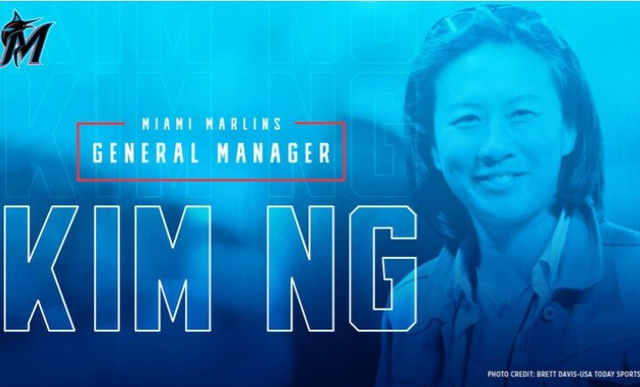 Kim Ng is the first woman in the history of MLB to became a club general manager