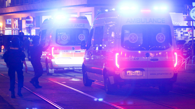 In the Austrian capital, 15 people were injured in the shooting