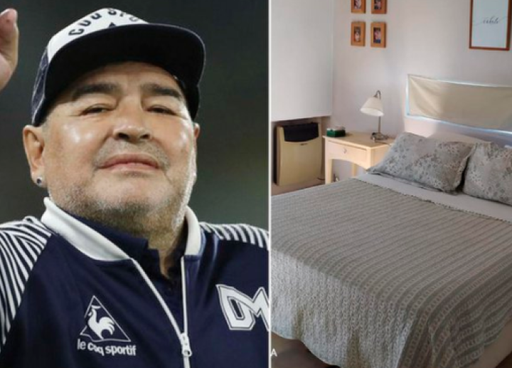 Room and house where Maradona died published. Photo