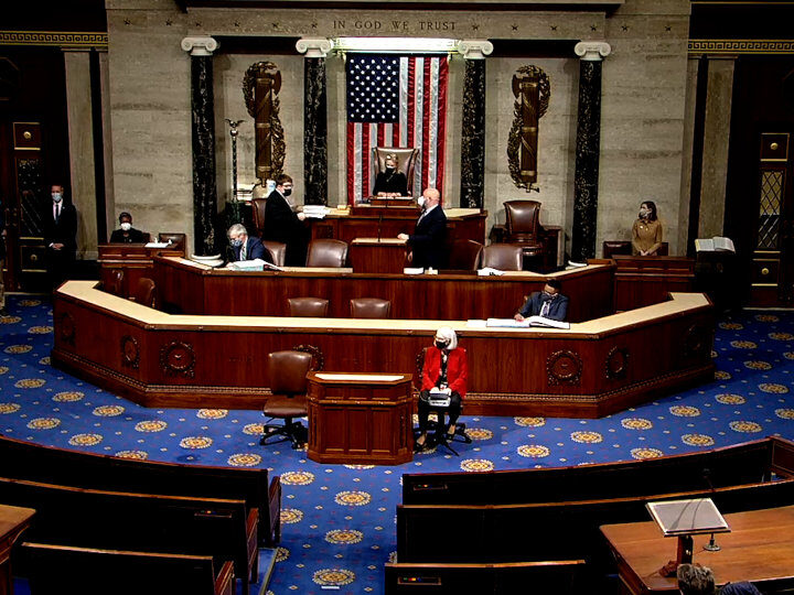 Trump Impeachment Resolution Debates in U.S. House of Representatives