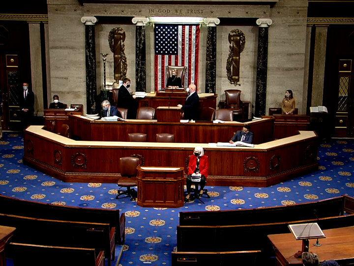 Trump Impeachment Resolution Debates in U.S. House of Representatives