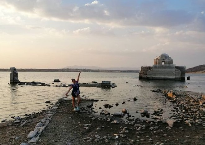 """In Mexico, a 200-year-old temple """"floated up"""" over a reservoir"""
