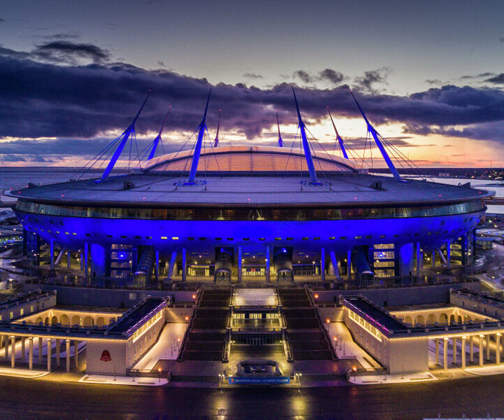 Today Gazprom Arena again welcomed a large number of fans